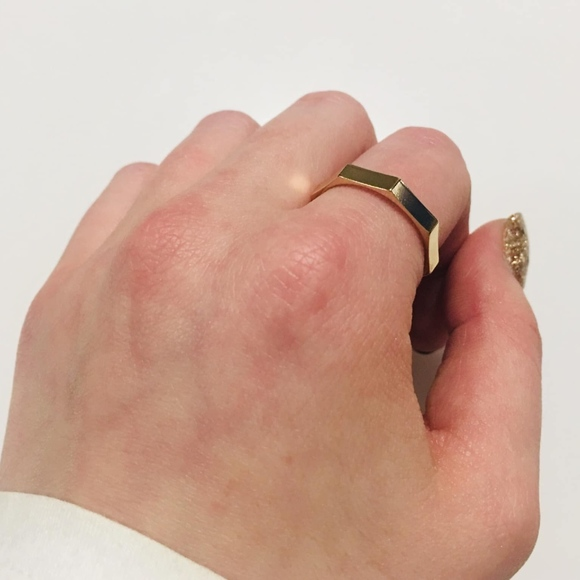 Choi Jewelry - gold bulky ring
